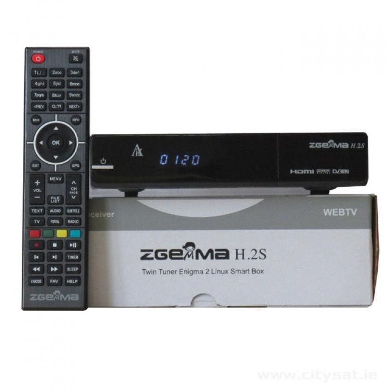 Zgemma H2S Satellite receiver - Ireland Stock