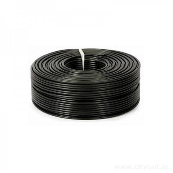 Coaxial RG6 Cable Black 100m