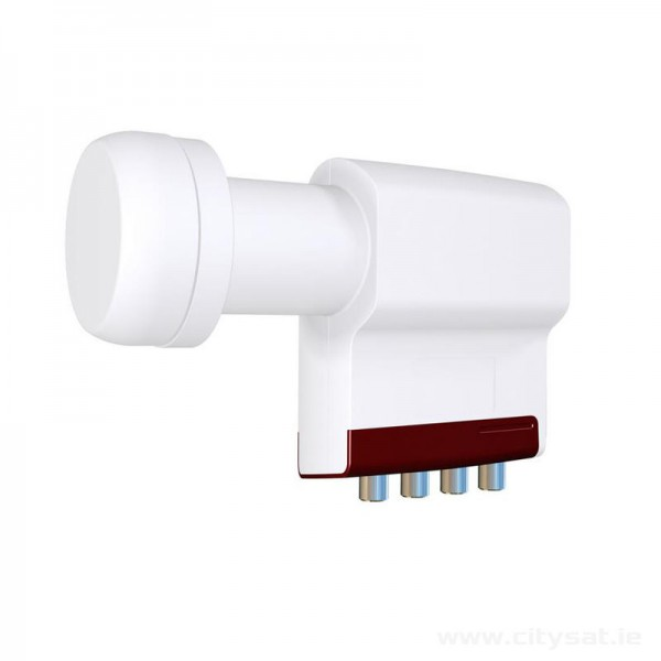 Inverto Quad LNB - Red Extended