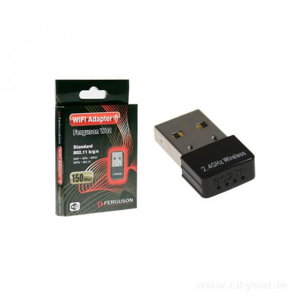 USB WiFi Dongle Stick Ferguson W02